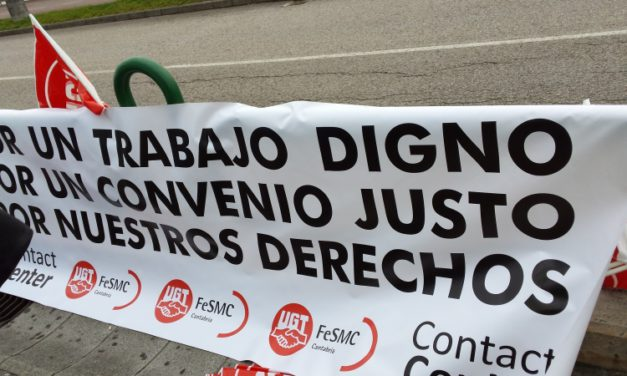 Un 70% de los trabajadores secunda en Cantabria la huelga general convocada en el sector de Contact Center