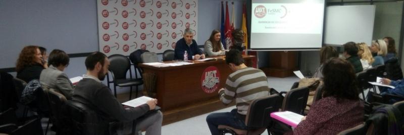 Jornada de Prevención de Riesgos dirigida a Delegados de FeSMC-UGT Cantabria