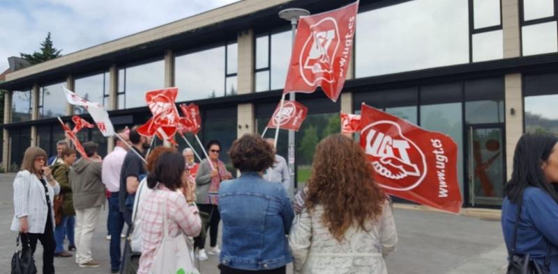 UGT seguirá con las movilizaciones hasta que Pitma respete los derechos laborales y sindicales en sus centros de contact center