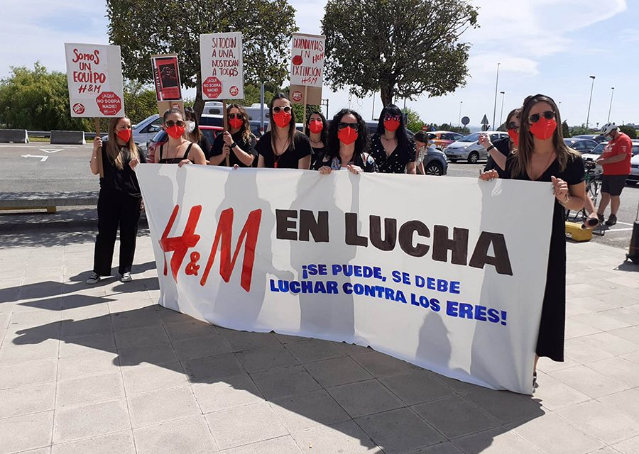 UGT rechaza que H&M resuelva con despidos y recortes laborales una falta de planificación de sus tiendas